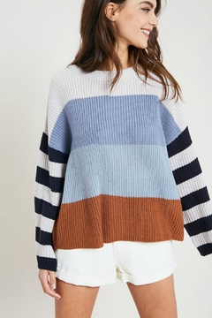 Shoptiques Product: Spring Stripe Sweater