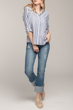 Everly Spring Striped Blouse - Product List Image
