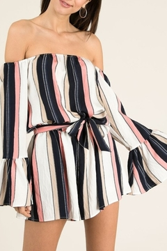 &merci Spring Stripes & Sass romper - Product List Image