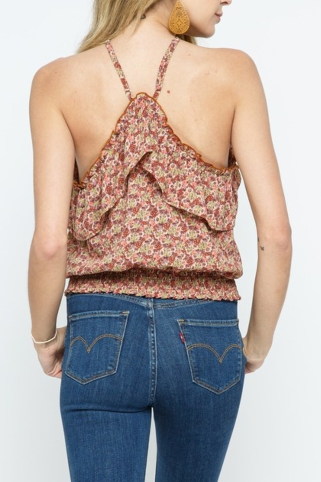Cozy Casual Spring Style Top - Front Full Image