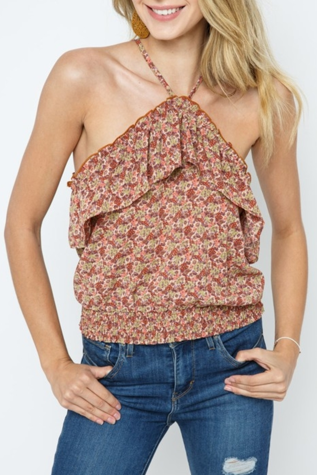 Cozy Casual Spring Style Top - Main Image