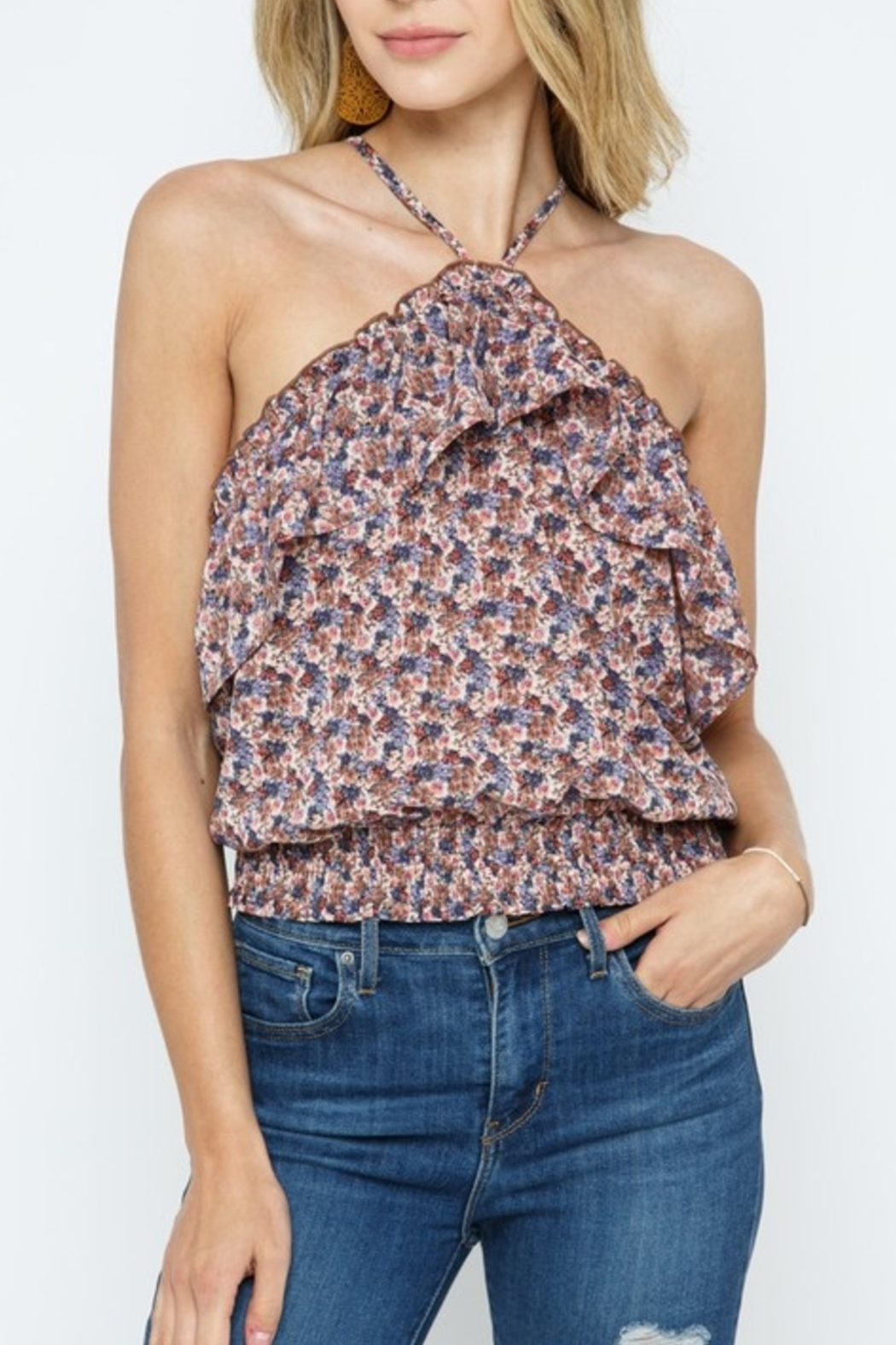 Cozy Casual Spring Style Top - Front Cropped Image
