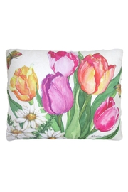 Sally Eckman Roberts Spring Tulips Pillow - Product Mini Image