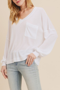 In Loom Spring V-Neck Pullover - Product List Image