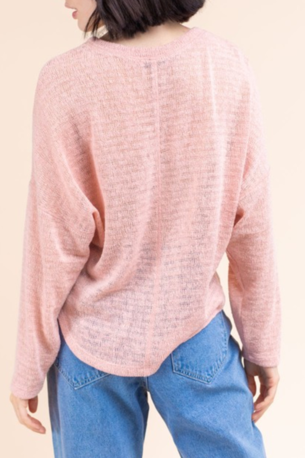 Gilli  Spring Weight Sweater - Side Cropped Image