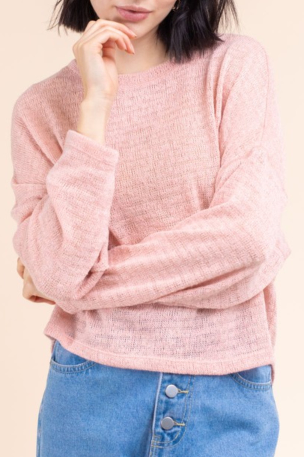 Gilli  Spring Weight Sweater - Front Full Image