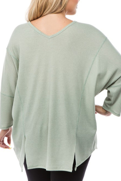 Spin USA Spring Weight Waffle Tunic - Alternate List Image