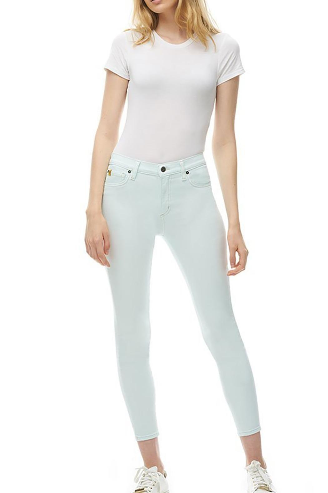 Yoga Jeans Spring - Front Cropped Image