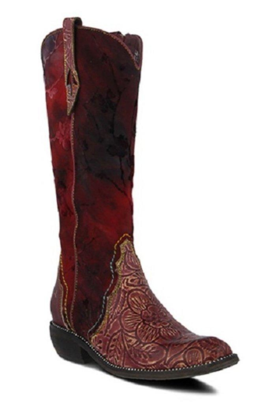 Spring Footwear Saturday-Night Saloon Boot - Front Cropped Image