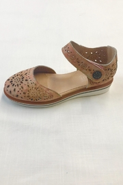 Spring Step  Leather Sandal - Front full body