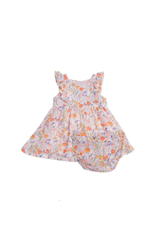 Angel Dear Springtime Floral Dress & Diaper Cover - Front cropped