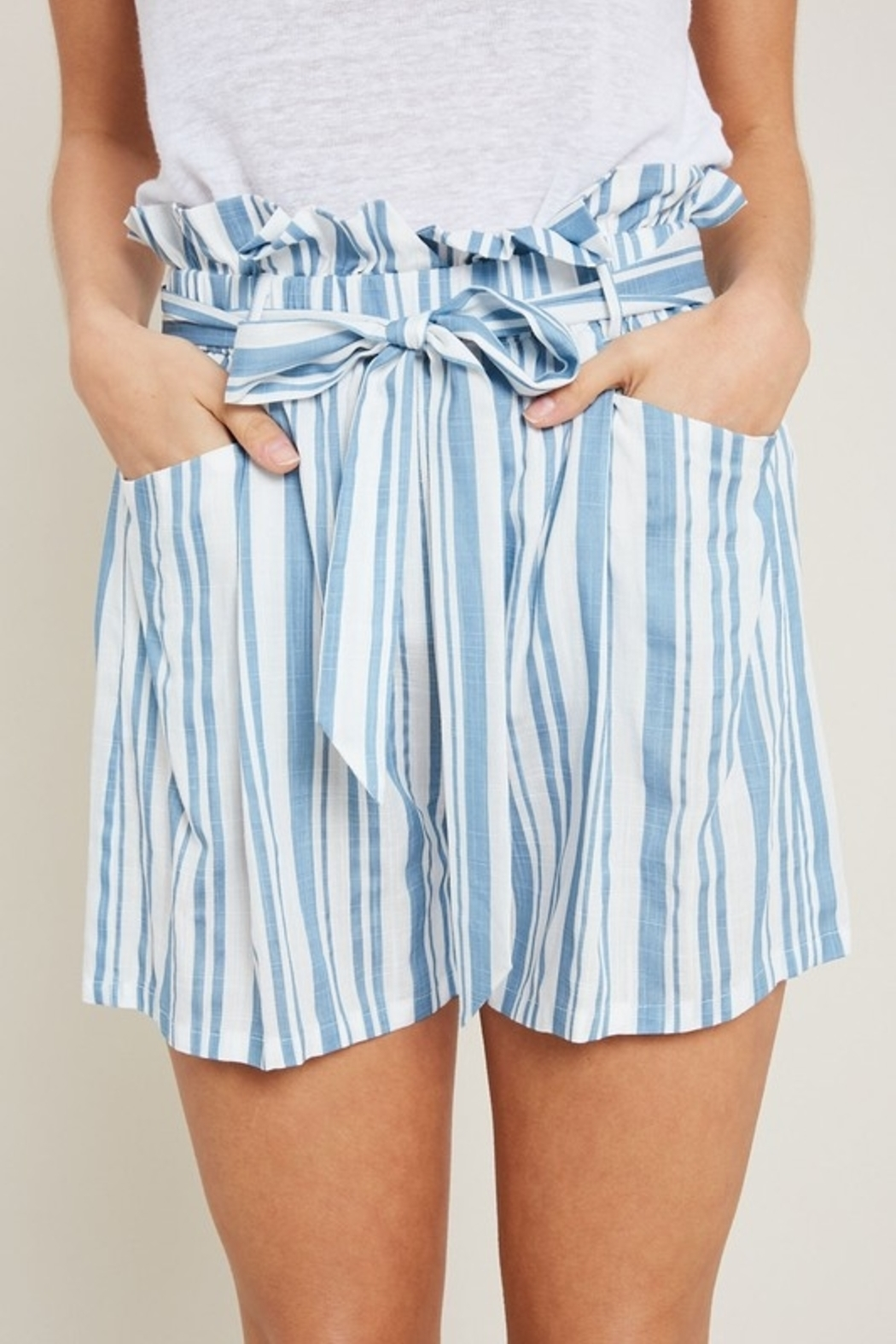 ee:some Springtime Stripes shorts - Front Cropped Image