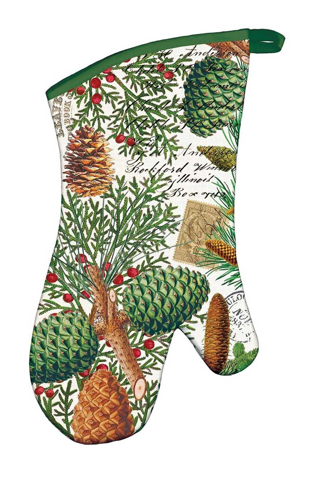 Michel Design Works Spruce Oven Mitt - Front Cropped Image