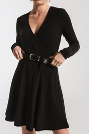 z supply Spun Surplice Dress - Product Mini Image
