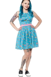 Sourpuss Sputnik Shift Dress - Product Mini Image