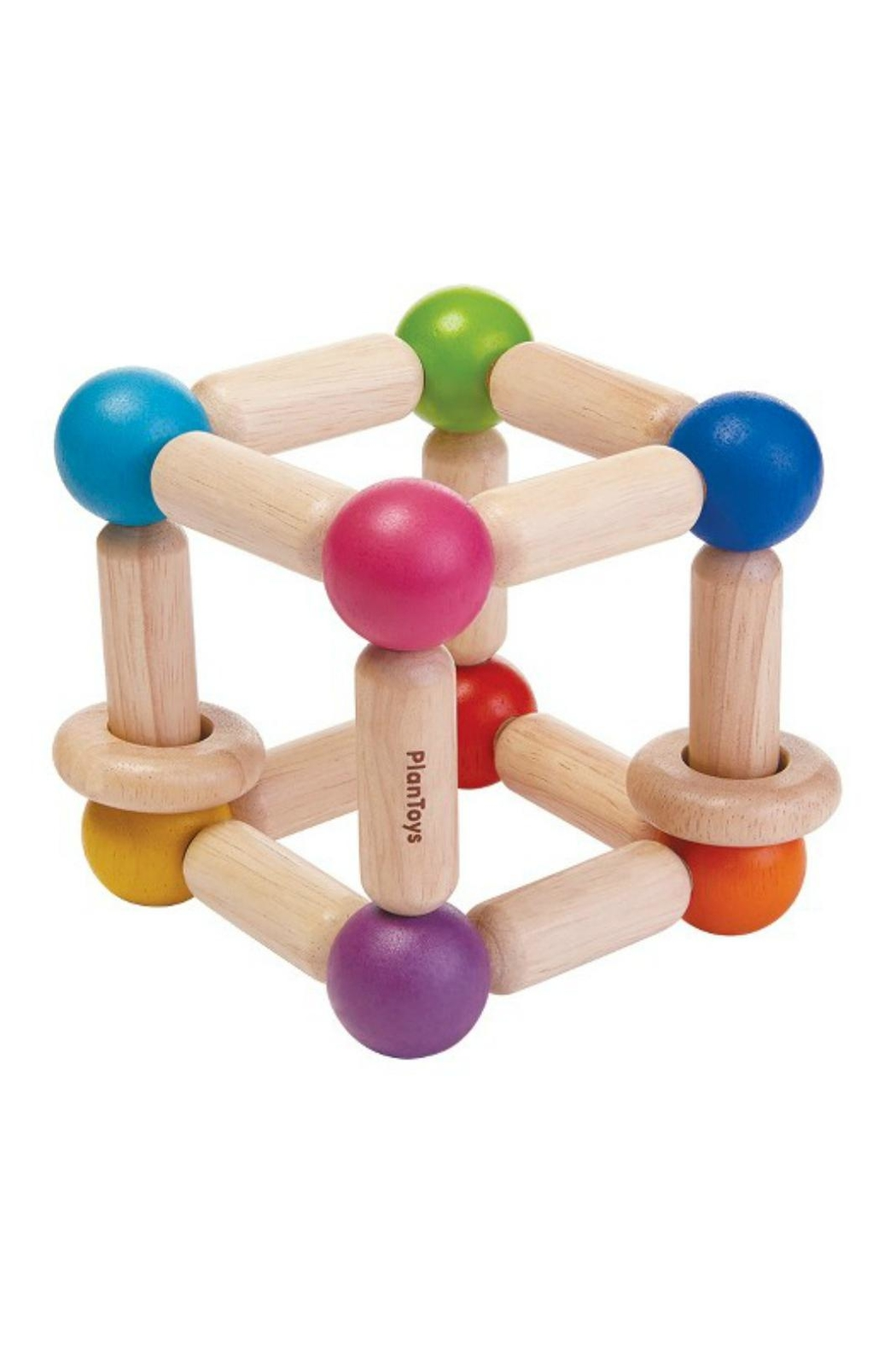 Plan Toys Square Clutching Toy - Front Cropped Image