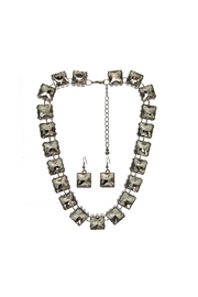 Sassy South Square Cut Necklace-Set - Front cropped