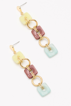 Nakamol  Square Drop Earring - Product List Image