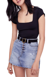 Free People Square Eyes Bodysuit - Front cropped