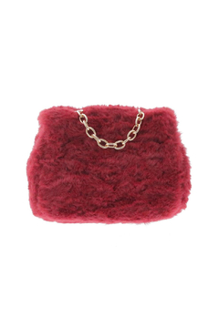 Doe a Dear Square Faux-Fur Turn Clasp Purse - Alternate List Image