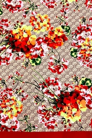 L'Imagine Square Floral Scarf - Front full body