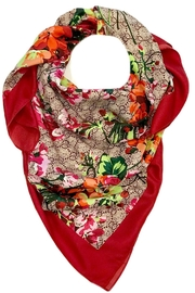 L'Imagine Square Floral Scarf - Product Mini Image