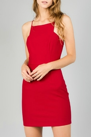 Minuet Square Neck Cocktail Dress - Product Mini Image