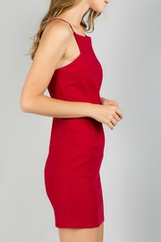 Minuet Square Neck Cocktail Dress - Side cropped