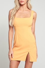 Pretty Little Things Square Neck Dress - Front cropped