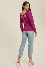 Bluivy Square neck pullover - Front full body
