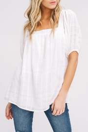 Listicle Square-Neck Woven Top - Product Mini Image