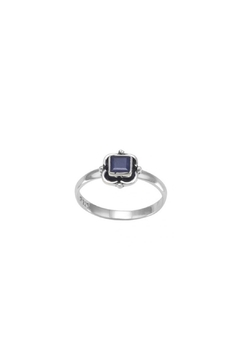 Wild Lilies Jewelry  Square Sapphire Ring - Alternate List Image