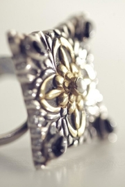 aaRaa Square Silver Ring - Product Mini Image