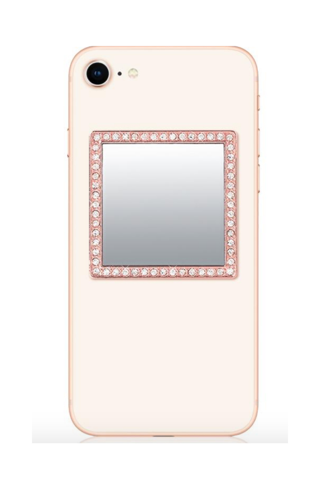 i decoz Square Studded Phone Mirror - Front Cropped Image