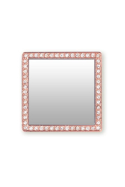 i decoz Square Studded Phone Mirror - Front full body