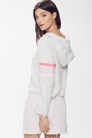 Mother Square Tear-Raw Hood - Front full body