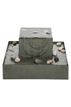 Foreside Home & Garden Square Zen Fountain - Product List Image