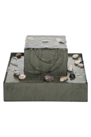 Foreside Home & Garden Square Zen Fountain - Product Mini Image