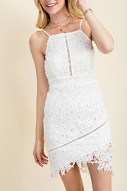Pretty Little Things Squared Lace Dress - Product Mini Image