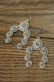 JChronicles Squash-Blossom Concho Earrings - Product Mini Image