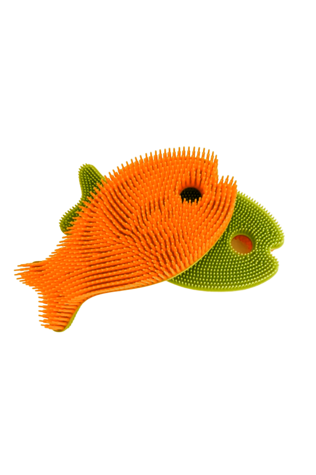 New People Fish Squigee Brush - Multiple Colors - Front Cropped Image