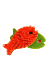 New People Fish Squigee Brush - Multiple Colors - Front cropped