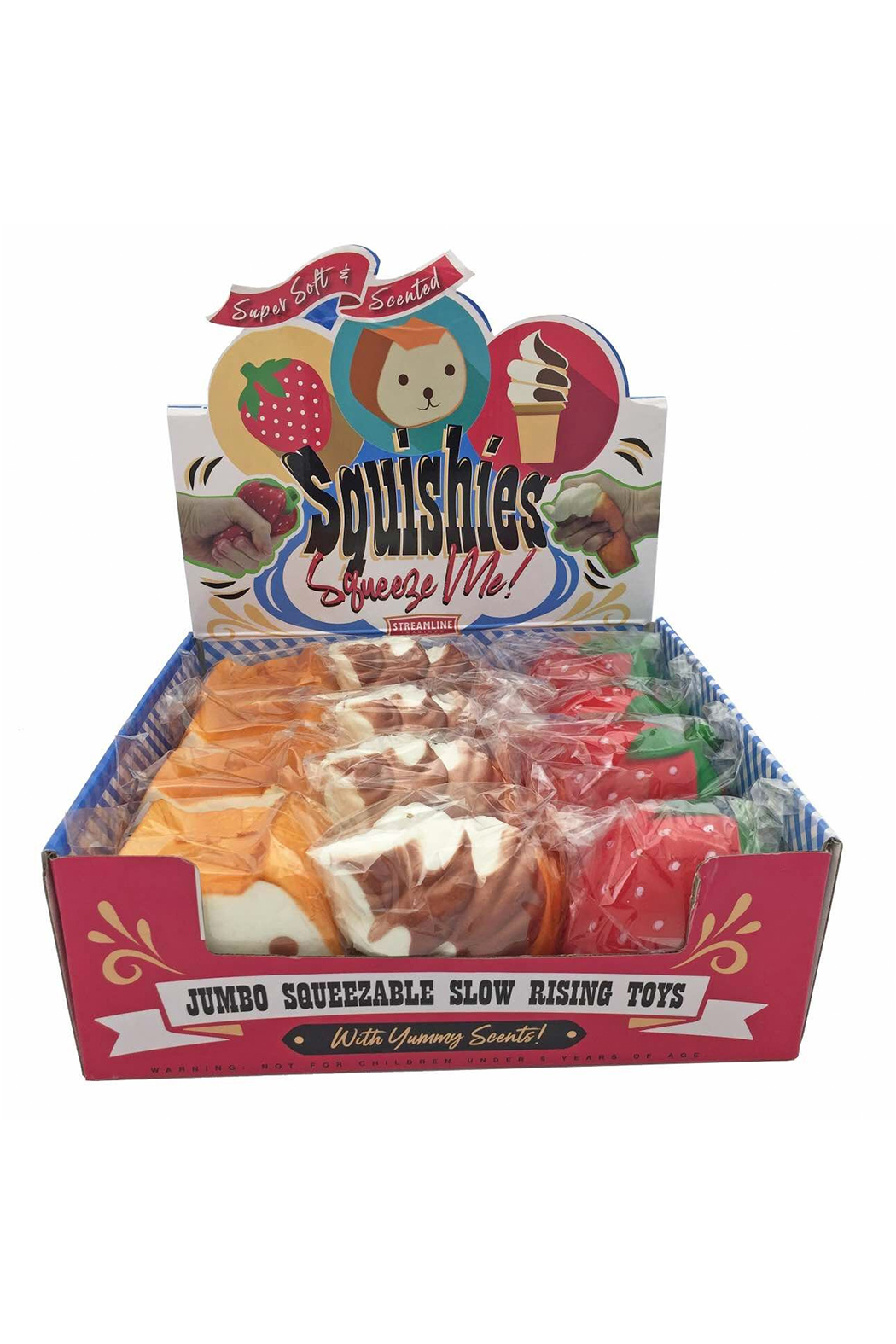 Streamline Squishies Slow Rising Squish Toy - Front Full Image