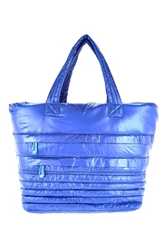 SR2 by Sondra Roberts Quilted Parachute Tote Bag - Product Mini Image