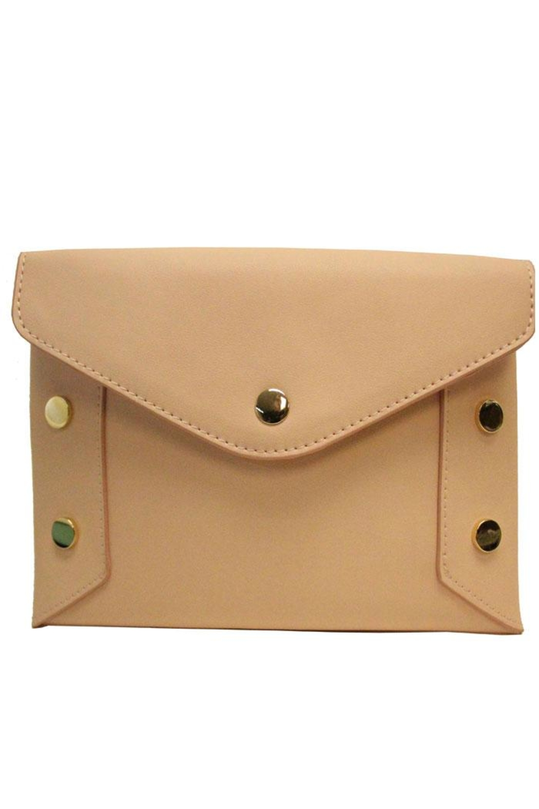 SR by Sondra Roberts Studded Convertable Clutch - Front Full Image