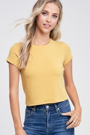 Jolie SS Cropped Tee - Product Mini Image