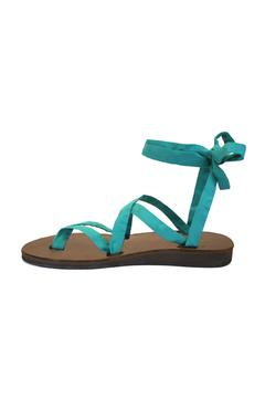 Shoptiques Product: Brown-Base Ribbon Sandals
