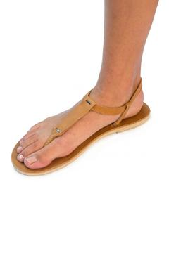 Sseko Designs Caramel T-Strap Sandal - Alternate List Image