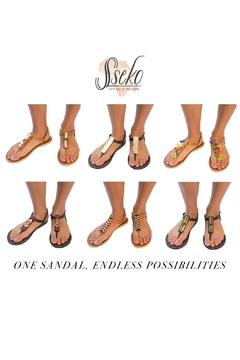 Sseko Designs Espresso T-Strap Sandal - Alternate List Image