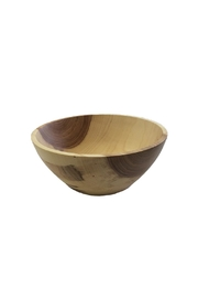 St. Germain Crafts Elm Wood Bowl - Front cropped